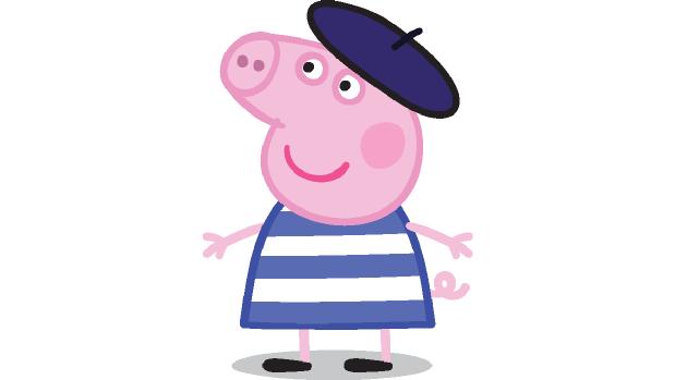 Peppa Pig po francúzsky