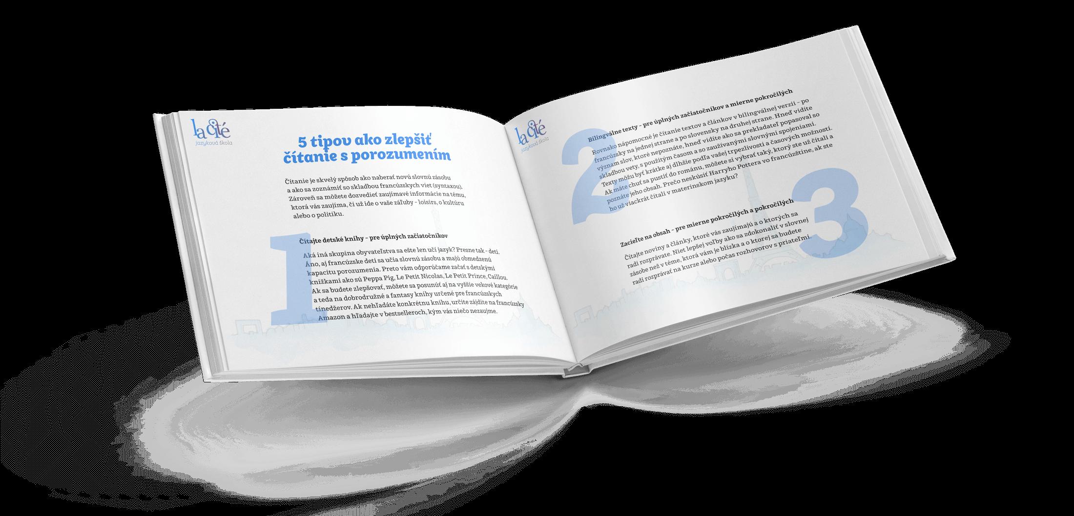 Kniha Účinné tipy ako sa učiť francúzštinu 2