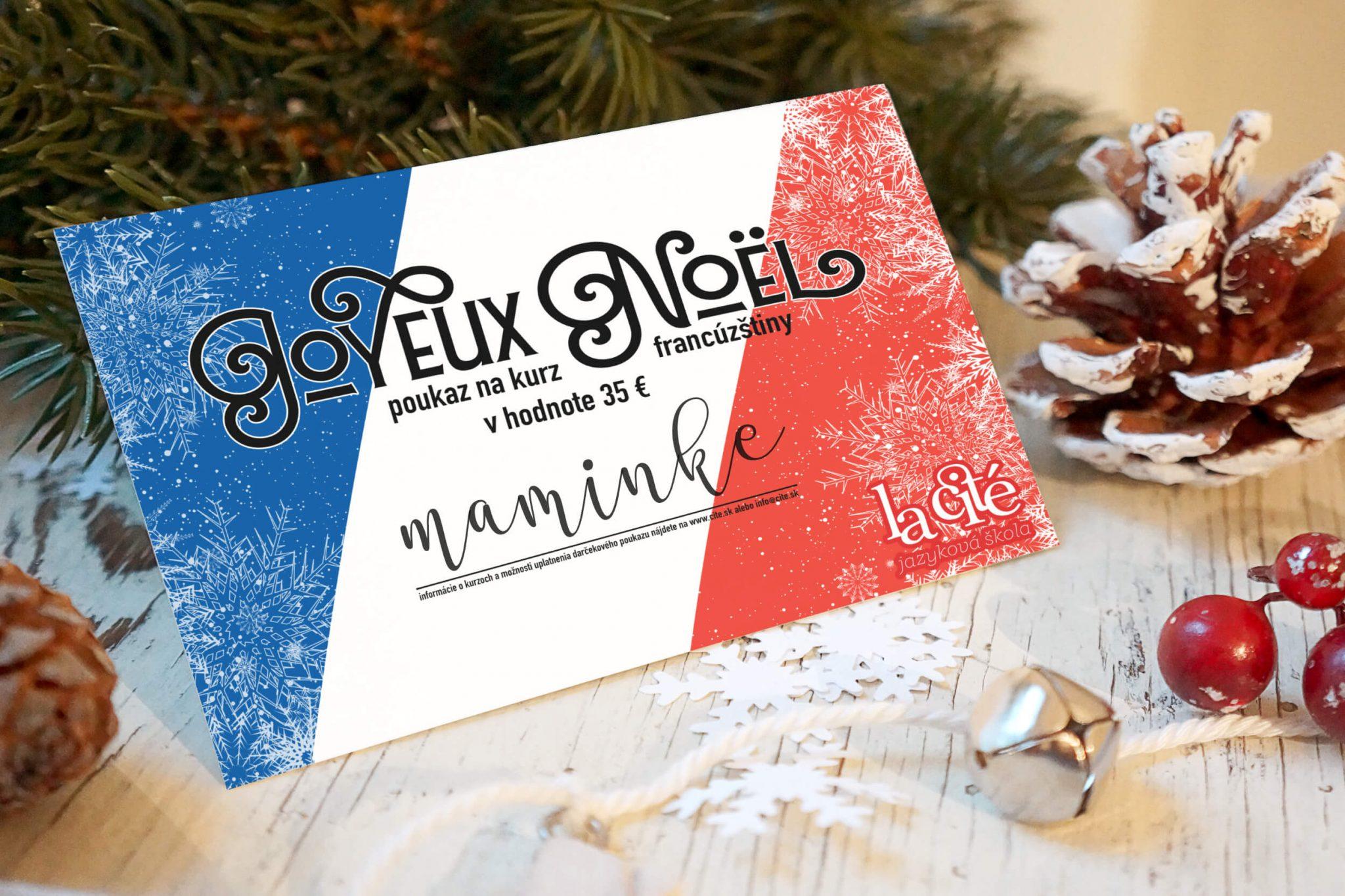 Potešte svojich blízkych kurzom francúzštiny – darčekové poukazy 1